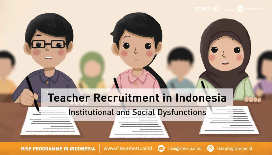 Image that shows illustration for infographic on teacher recruitment