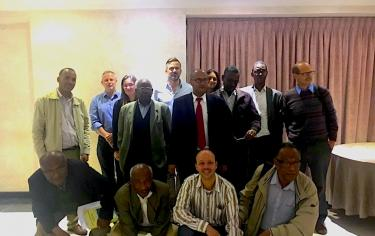 Group picture of the Ethiopia Country Research Team