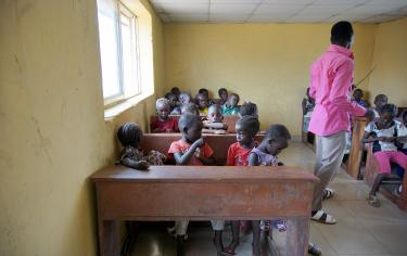 Classroom in Nigeria (©Centre for the Study of the Economies of Africa)