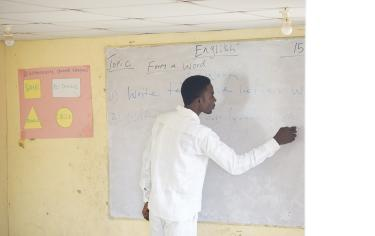 Teacher in Nigeria (©Centre for the Study of the Economies of Africa)