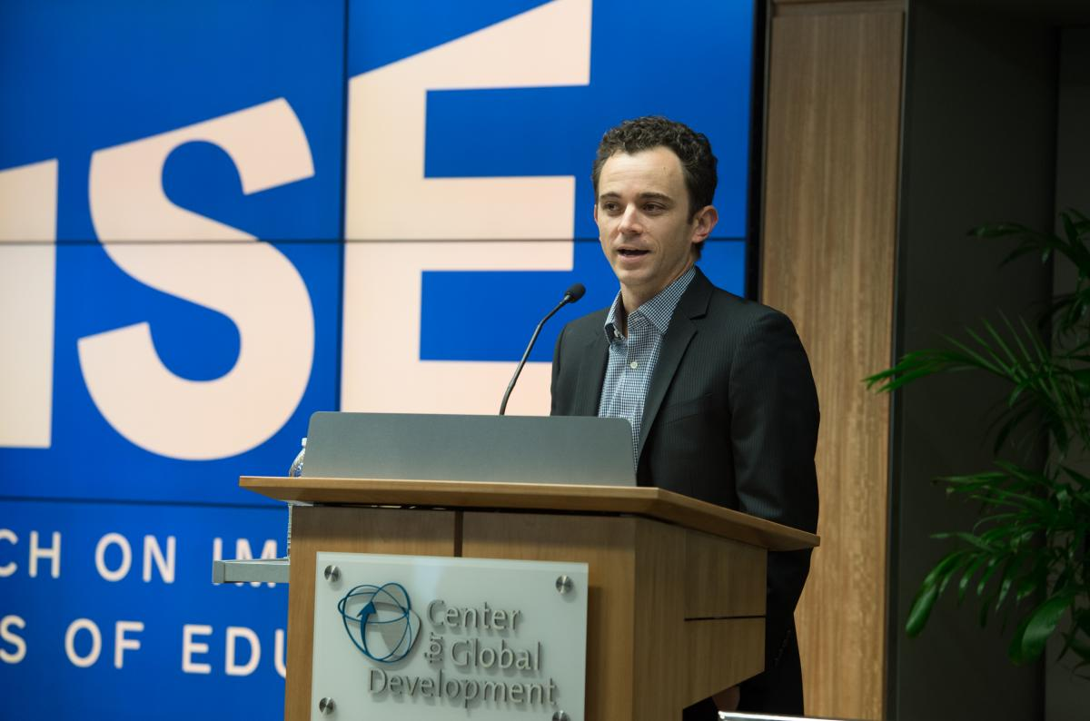 RISE Annual Conference 2015 - Presenter Justin Sandefur