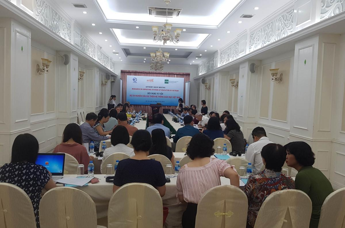 RISE Vietnam CRT Advisory Board Meeting July 2018