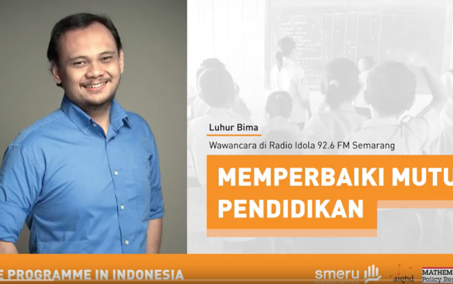 Idola FM interview with Luhur Bima (Indonesia CRT)