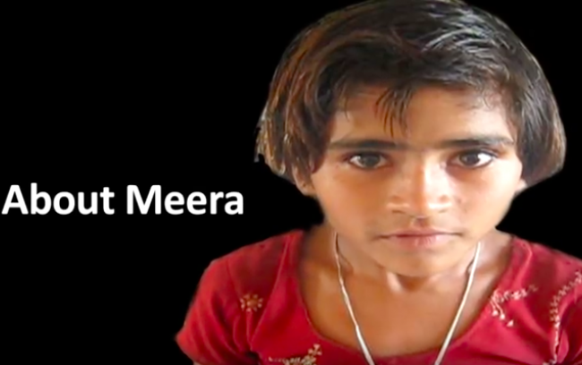 About Meera - the story of a young student at a Pratham Learning Camp