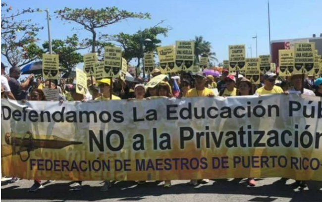 Teacher protests in Peru