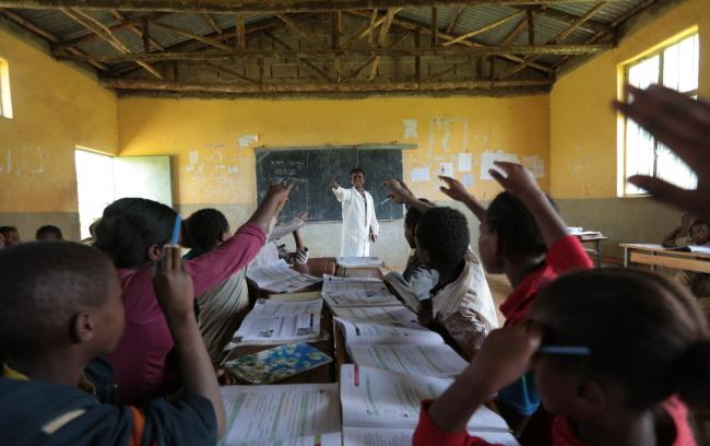 school in Ethiopia