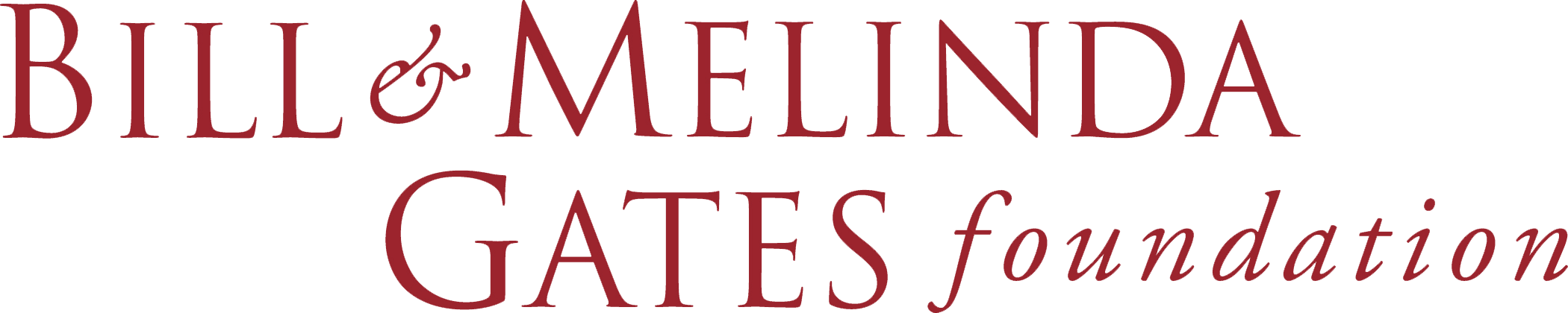 Bill and Melinda Gates logo